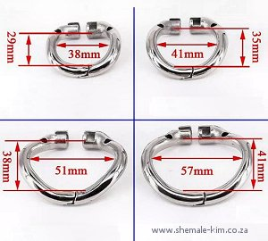 BSDM chastity cage for crossdressers, South Africa, Pretoria
